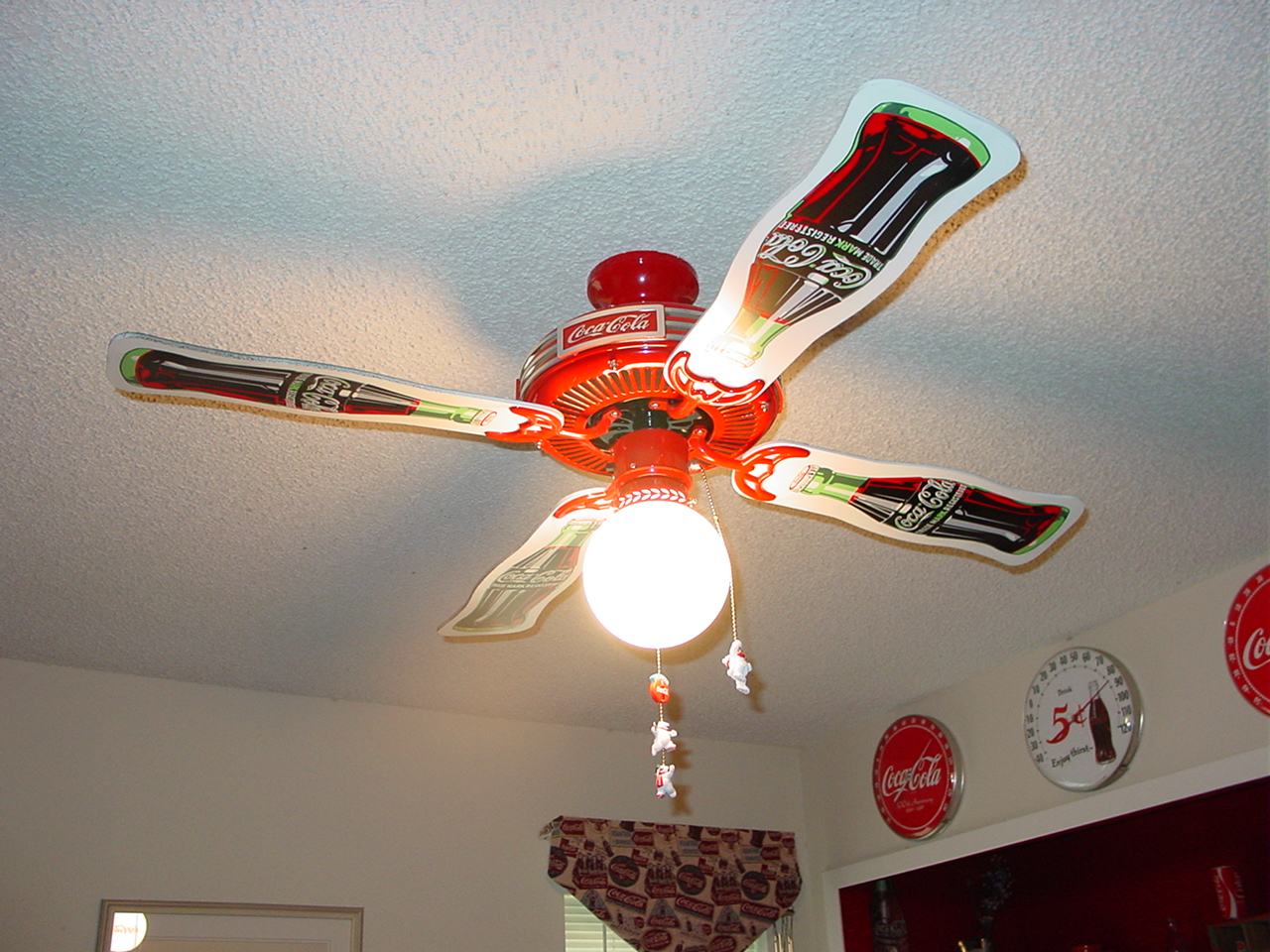 And a ceiling fan as well
